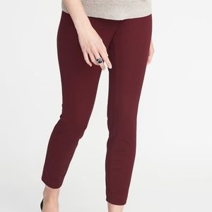 Old Navy Side Panel Maternity Pixie Pants